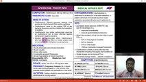 Afoxin Pocket Info Training by Dr. Syd Qasim