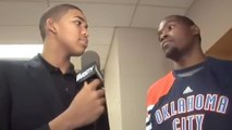 Watch a Teenage Karl-Anthony Towns Interview Kevin Durant