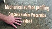 Concrete Surface Preparation Video 4    Mechanical Surface Profiling
