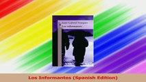 Read  Los Informantes Spanish Edition Ebook Free