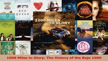 Read  1000 Miles to Glory The History of the Baja 1000 Ebook Free