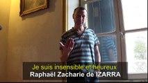 Je suis insensible et heureux par Raphaël Zacharie de IZARRA