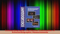 Echocardiography The Normal Examination of Echocardiographic Measurements Read Online