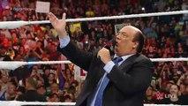 Wwe raw 2015.09 07  Full Hd Under Taker crushing Brock lesner WWE again
