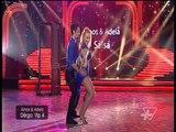 DWTS Albania 5 - Amos & Adela - Salsa - Nata e pare - Show - Vizion Plus