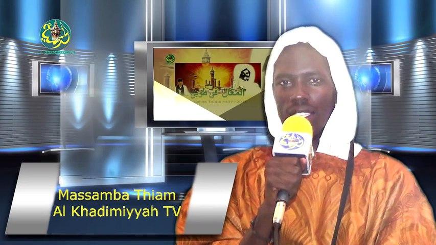 Magal Touba 2015 #Al Khadimiyyah Tv