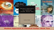 Download  Modern Approach to Classical Guitar Book Two Ebook online