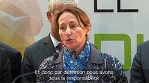 J - 1 avant la COP21 : Ségolène Royal encourage la mobilisation
