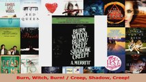 Download  Burn Witch Burn  Creep Shadow Creep PDF Free