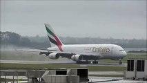 Emirates - Airbus A380 - Landing - Auckland Intl. Airport