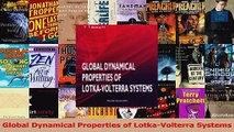 PDF Download  Global Dynamical Properties of LotkaVolterra Systems PDF Online