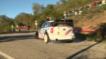Championnat de France des Rallyes 2015 - Rallye du Var - Etape 1 : David Salanon et Pierre Roché au coude à coude !