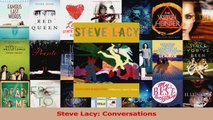 PDF Download  Steve Lacy Conversations PDF Full Ebook