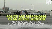 Shooter Opens Fire At A Colorado Planned Parenthood