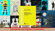 PDF Download  Methods of Mathematical Finance Stochastic Modelling and Applied Probability PDF Full Ebook