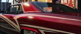 GTA 5 Online Lowrider DLC Official HD Trailer! Lowriders Update! (GTA 5 Lowrider DLC Trail