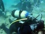 Praying Namaz under the Sea amazing