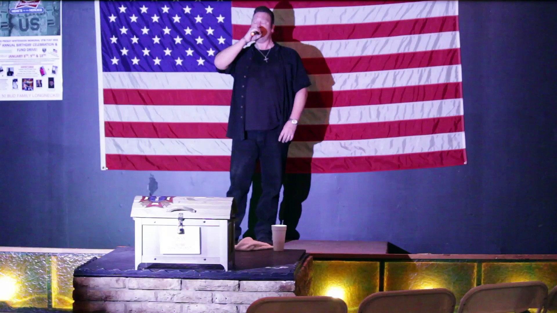 Scott Michael and Colin Paul sing 'An American Trilogy' Elvis Presley Memorial VFW 2015
