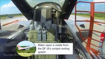 FIGHTER F-16 Drones : Jet Flies Without Pilot (Air Forces Unmanned Jet Take-off & Landing
