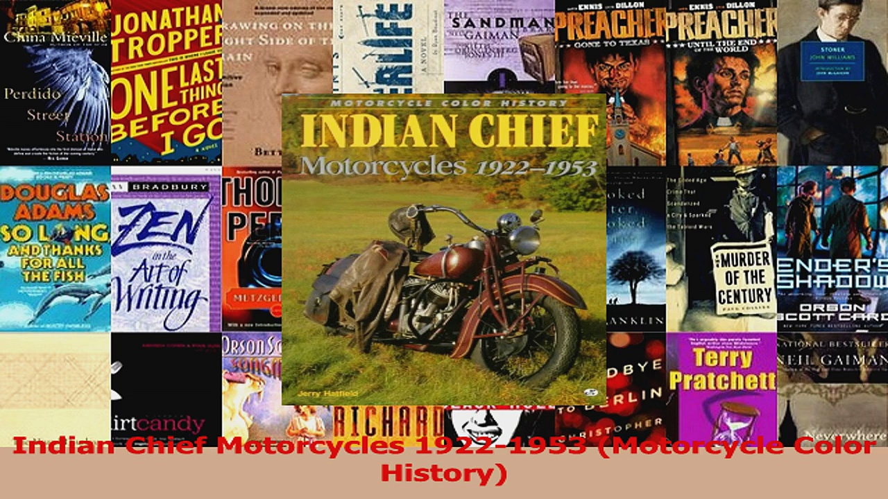 Read  Indian Chief Motorcycles 19221953 Motorcycle Color History Ebook Free