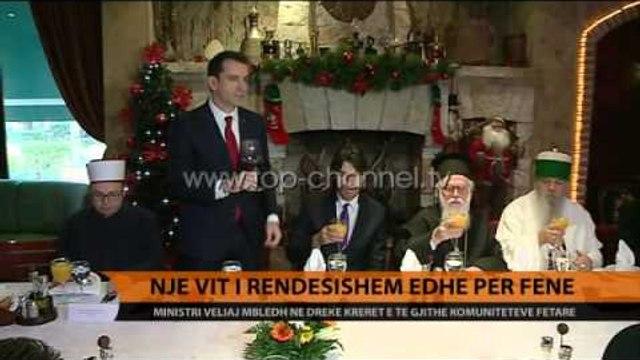 Veliaj mbledh krerët e komuniteteve fetare - Top Channel Albania - News - Lajme
