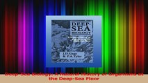 PDF Download  DeepSea Biology A Natural History of Organisms at the DeepSea Floor PDF Online