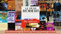 Download  Petit Robert de la langue française Collection Dictionnaires Le RobertSeuil French PDF Online