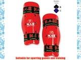 M.A.R International Ltd Dipped Foam Shin Guard Martial Arts Karate Taekwondo Boxing Kickboxing