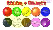 Colors Lesson (French Lesson 05) CLIP - Teach Colour Names, Baby French Words, Français C