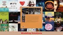Read  Wedding Emotions EBooks Online