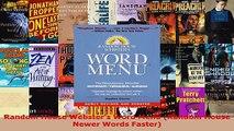 Read  Random House Websters Word Menu Random House Newer Words Faster PDF Free