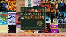 Download  Megadiversity Earths Biologically Wealthiest Nations Ebook Free