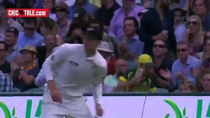 watch New zea land player take great catch at boundary