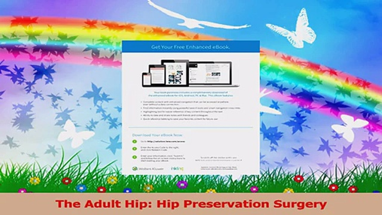 The Adult Hip Hip Preservation Surgery Download