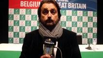 """Coupe Davis 2015 Henri Leconte : """"David Goffin et Steve Darcis prêts pour l'exploit contre les Murray"""""""