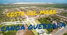 COSTA DEL MARE - IMAGENS DRONE - CONDOMINIO FECHADO DE LOTES EM CANOA QUEBRADA CEARA-HD