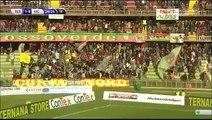 1-0 Fabio Ceravolo Goal Italy  Serie B - 28.11.2015, Ternana Calcio 1-0 Vicenza Calcio