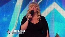 Will singer Alison Jiear be walking home alone? | Britains Got Talent 2015