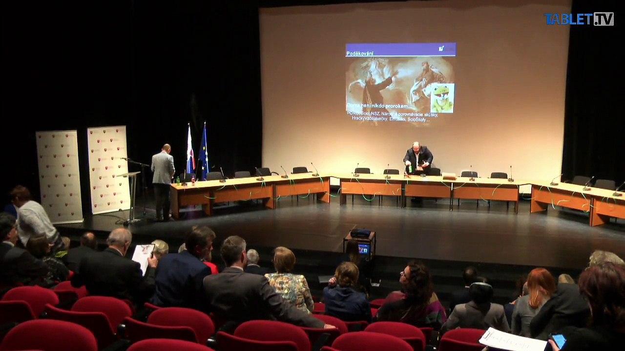 ZÁZNAM 2. časť: Druhý okrúhly stôl o slovenskom školstve