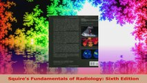 Squires Fundamentals of Radiology Sixth Edition Read Online