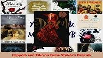 PDF Download  Coppola and Eiko on Bram Stokers Dracula PDF Full Ebook