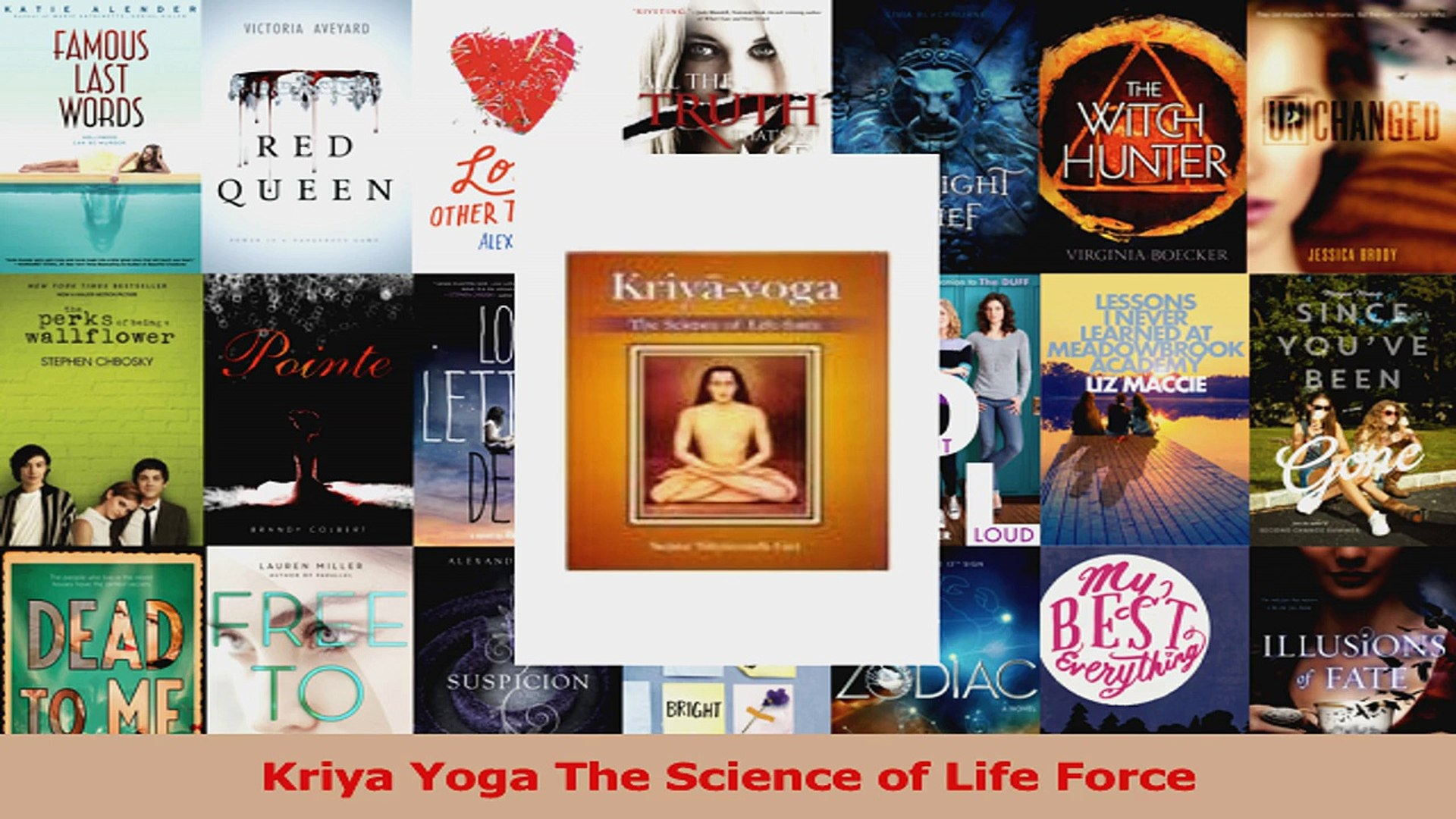 kriya yoga the science of life force free download