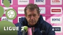 Conférence de presse Evian TG FC - Stade Lavallois (0-0) : Safet SUSIC (EVIAN) - Denis ZANKO (LAVAL) - 2015/2016