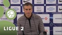 Conférence de presse Paris FC - Dijon FCO (0-3) : Denis RENAUD (PFC) - Olivier DALL'OGLIO (DFCO) - 2015/2016