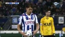 Mitchell te Vrede Goal - Heerenveen 3-0 Roda - 28-11-2015
