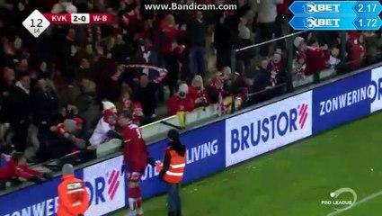KV Kortrijk - RS Waasland-Beveren 2-0 Papazoglou