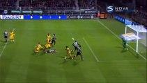 1-0 Gilles Sunu Goal France  Ligue 1 - 28.11.2015, Angers SCO 1-0 Lille OSC