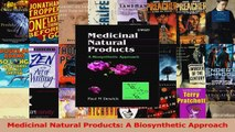 PDF Download  Medicinal Natural Products A Biosynthetic Approach PDF Online