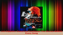 Read  Led Zeppelin Dazed and Confused The Stories Behind Every Song Ebook Free