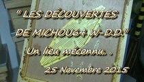 LES DÉCOUVERTES DE MICHOU W-D.D. - 25 NOVEMBRE 2015 - LESCAR - LES RUCHES DU VILLAGE D'EMMAÜS.